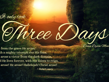 Three Days: The Simple Yet Profound Message of the Cross
