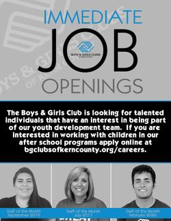 Job Recruitment Flyer 2020