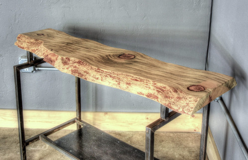 Beetle Kill Pine Live Edge Occasional Table
