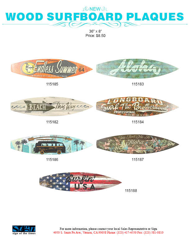 surfboard wall decor surfer gifts