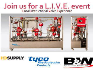 Fire Protection Company Hosts Free BBQ & Tyco Valve Demo