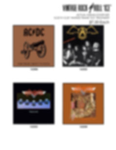 aerosmith vintage album covers