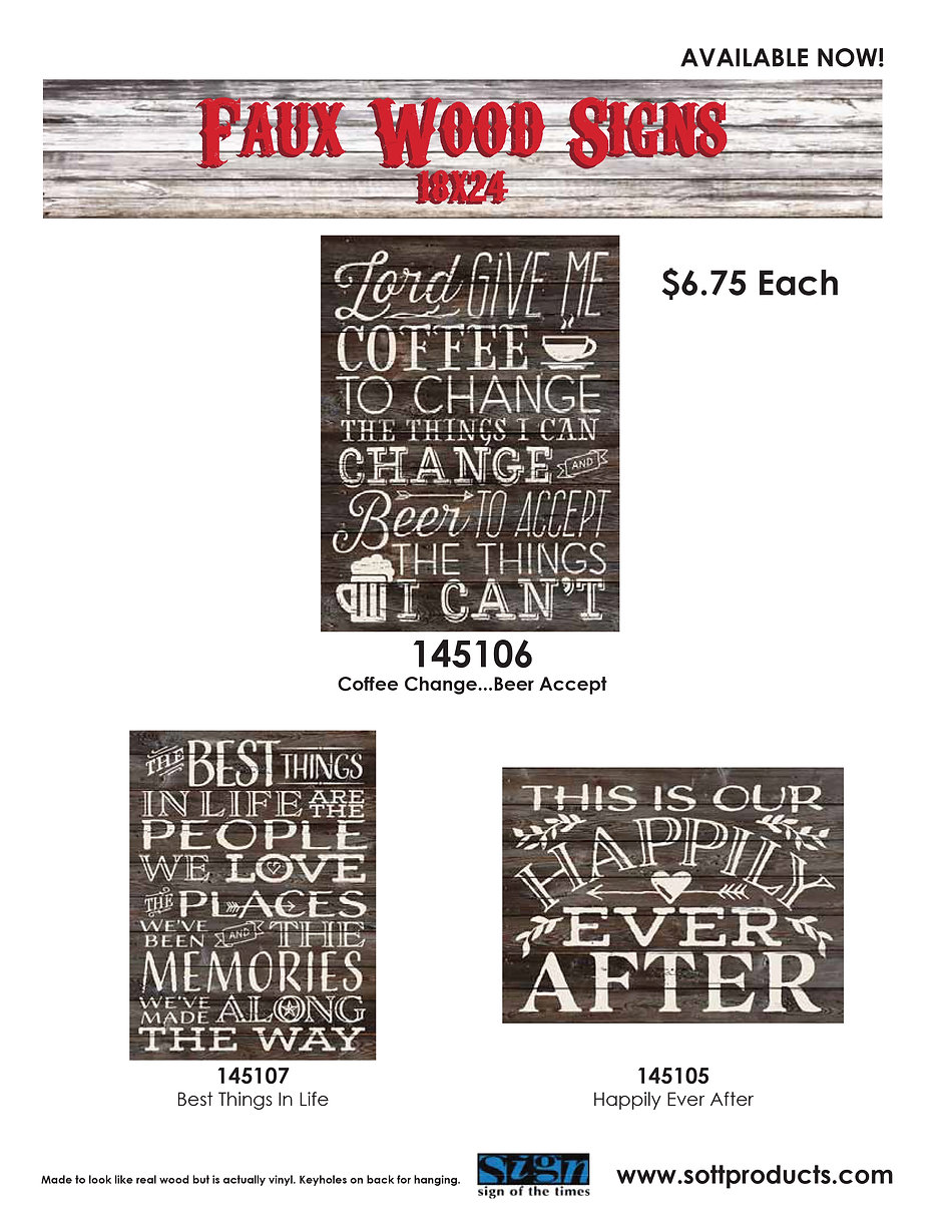 pub signs wall decor