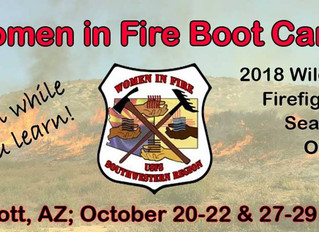 7-Point Check-List for Women in Fire Protection Services: Wildland Fire Boot Camp