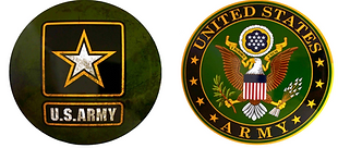 US Army Metal Signs
