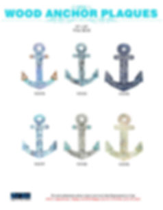 anchor wall plaques and signs