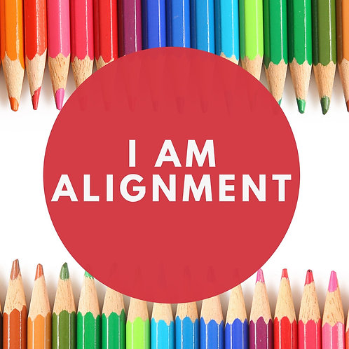 I Am Alignment Affirmative Prayer Poster