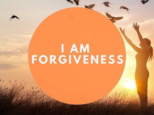 I Am Forgiveness Affirmative Prayer Poster