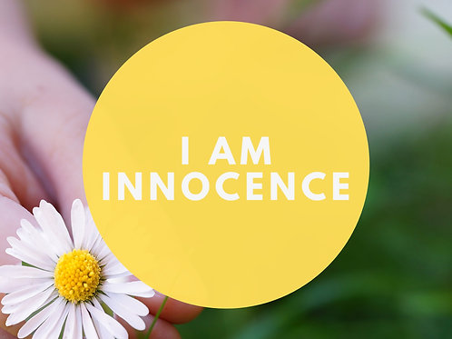 I Am Innocence Affirmative Prayer Poster