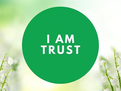 I Am Trust Affirmative Prayer Poster