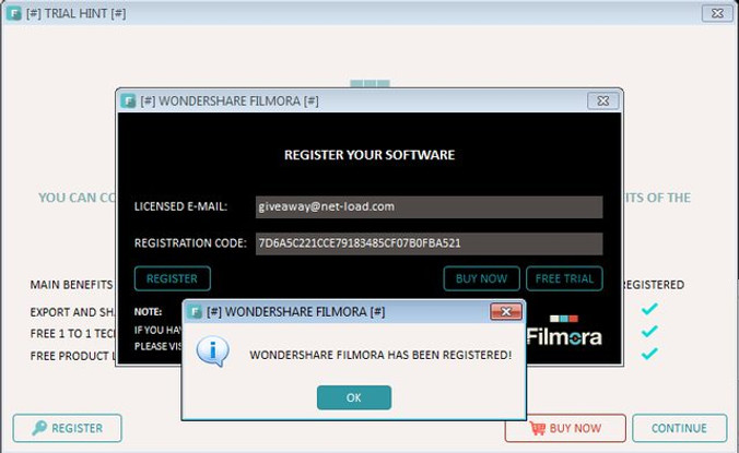 wondershare vivideo registration code mac