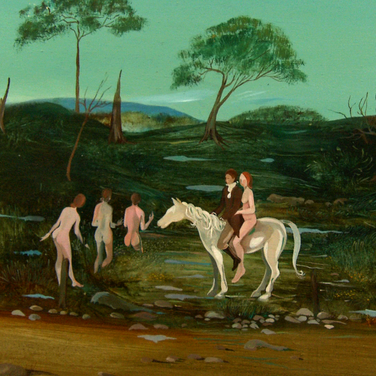 Oil painting by G.L. Clarkes