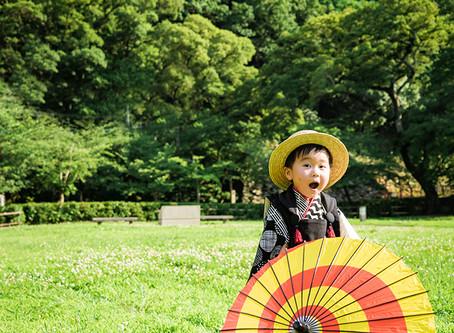 和歌山で七五三撮影!!