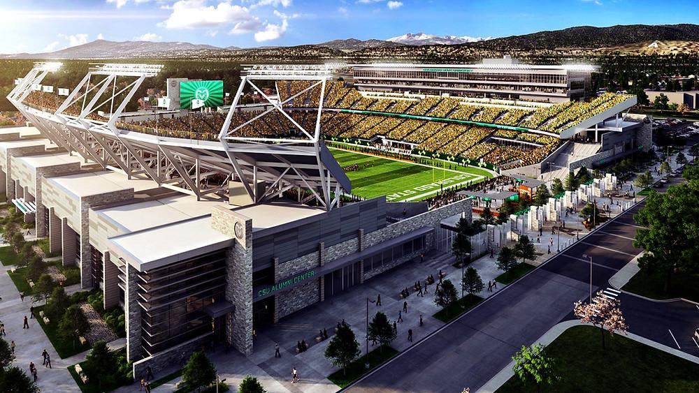 CSU Stadium / stadium.colostate.edu