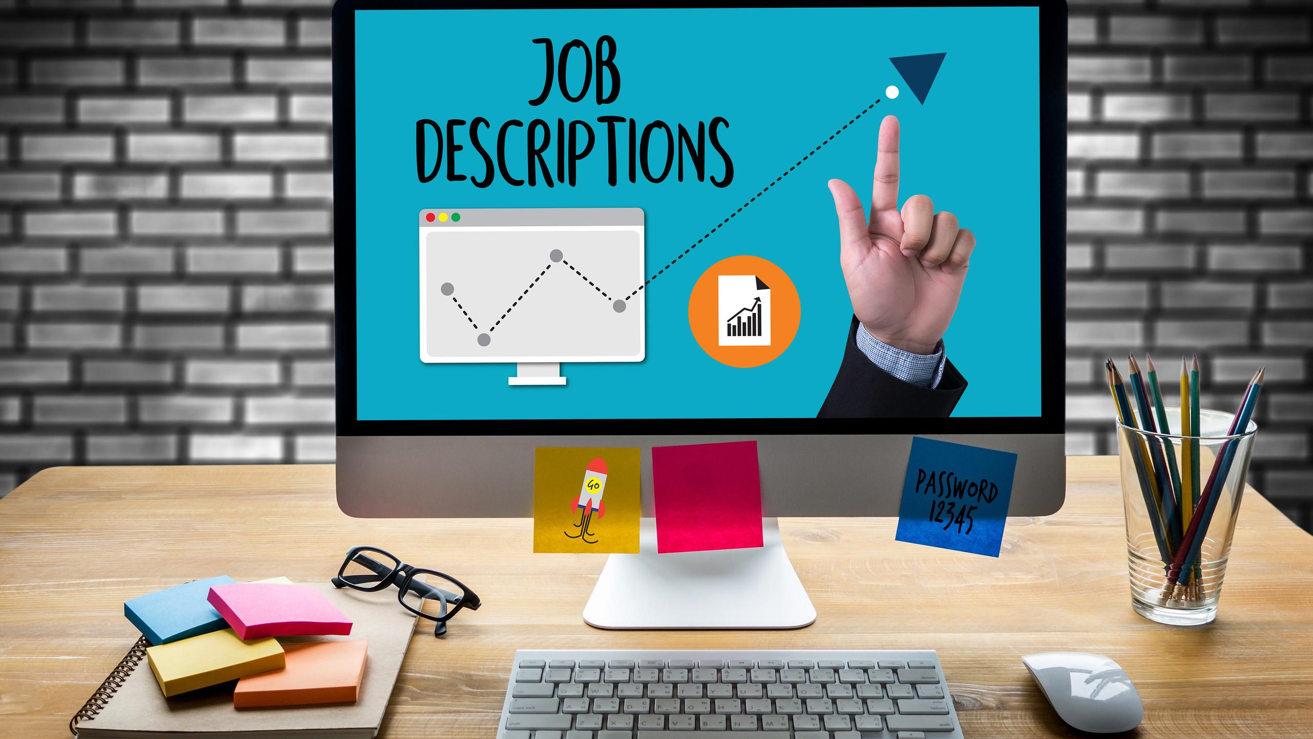 Job Descriptions  Human Resources, Employment, Team Management Job Descriptions  , Performance Manag