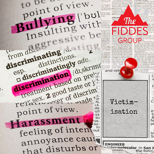Bullying Discrimination Harassment & Victimisation  Policy