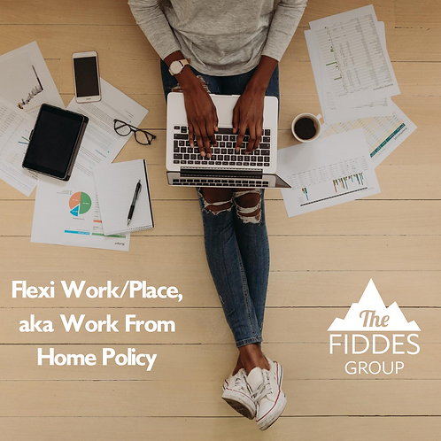 Flexi Work/place (Work From Home) Policy Template