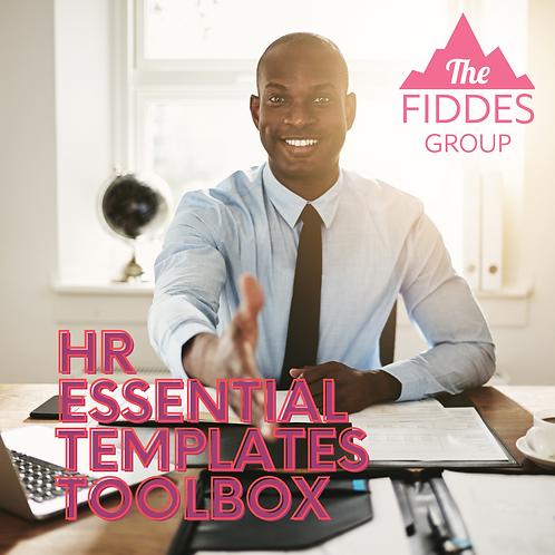 HR Essential TemplatesToolbox