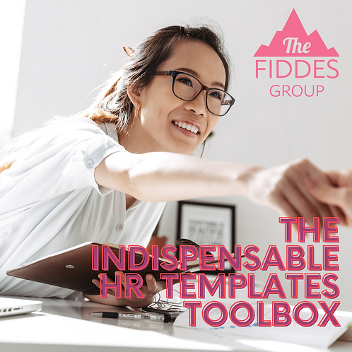 The Indispensable HR Templates Toolbox