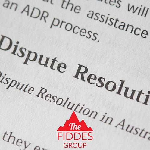 Complaints & Dispute Resolution Template