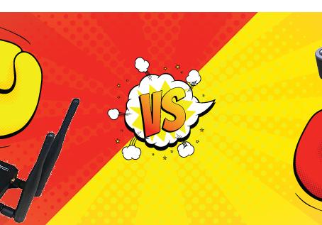 Netgear LB1120 vs. MOFI4500-4GXeLTE-SIM4 Review
