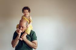 Sesión de fotos bebé a domicilio