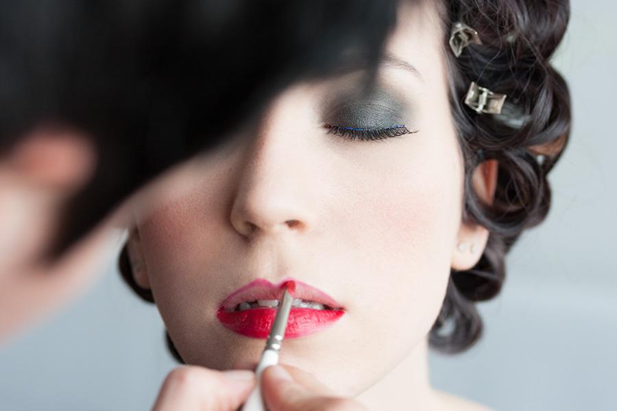 Fotografía moda - making of mujer