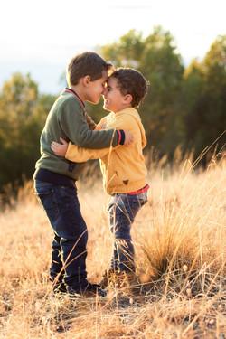 Fotografía niños hermanos Madrid
