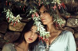 Fotografía retrato madre e hija