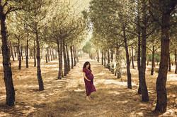 Fotografía embarazo Madrid - verano