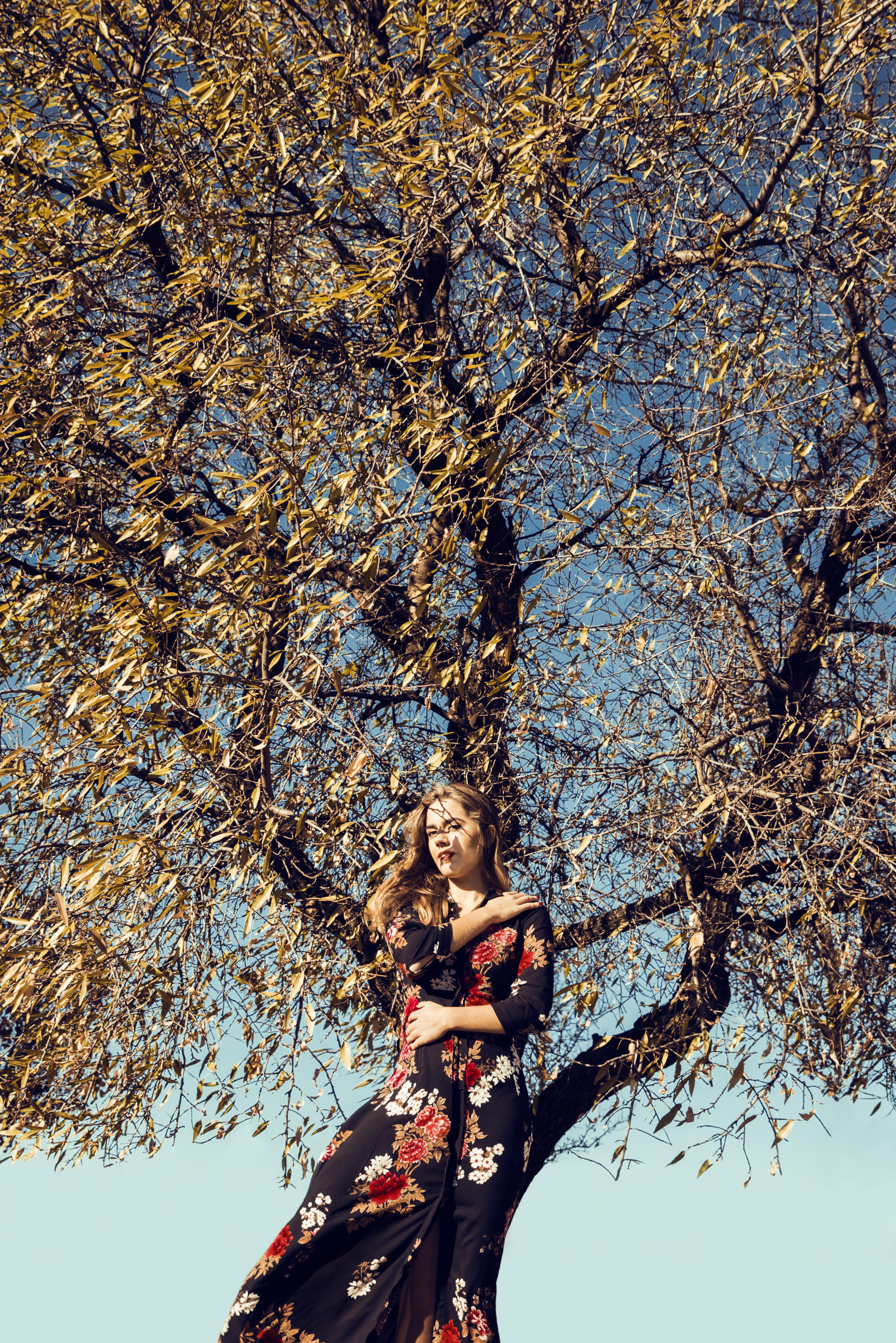 Sesión retrato mujer otoño