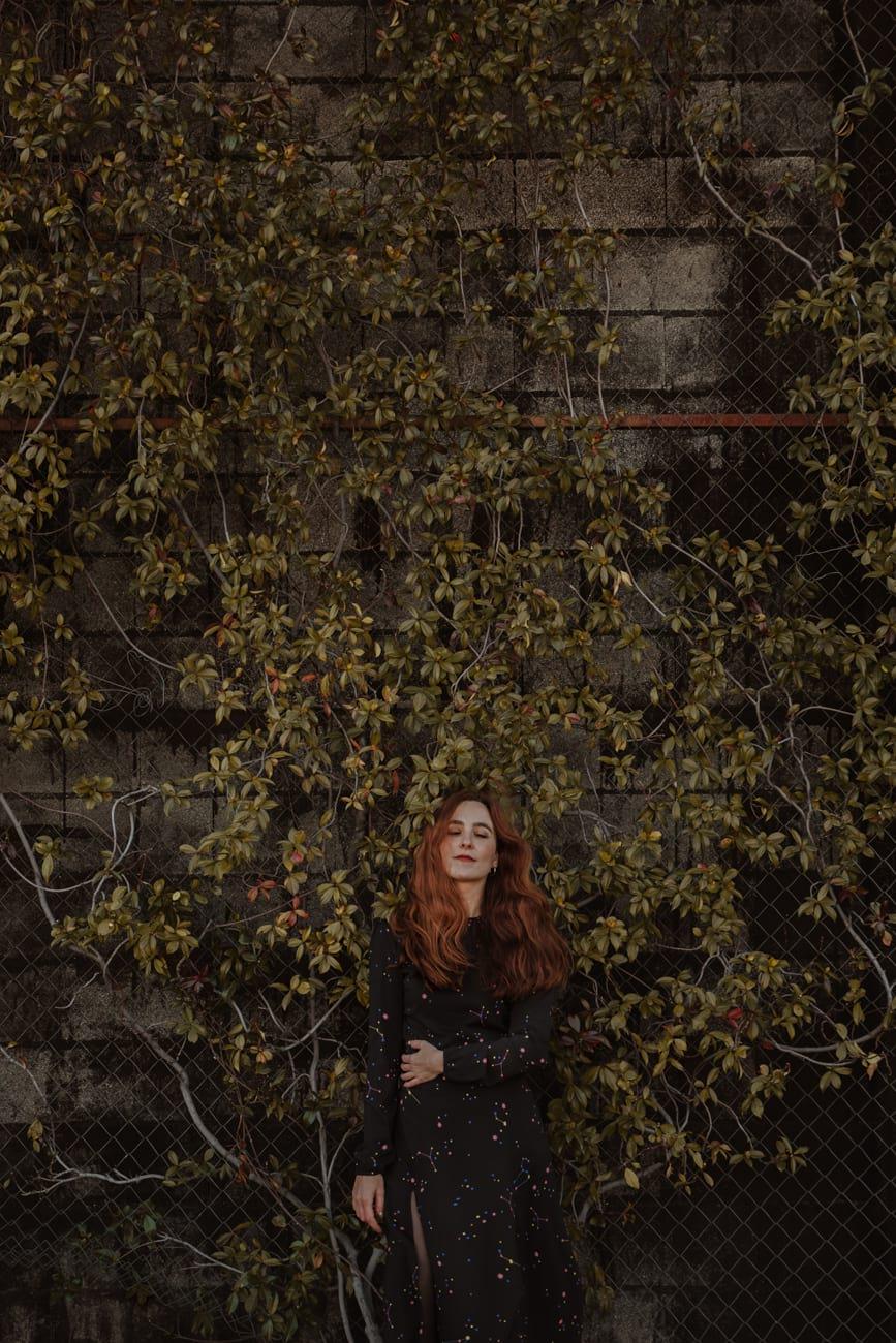 Sesión de fotos retrato artístico mujer en Madrid