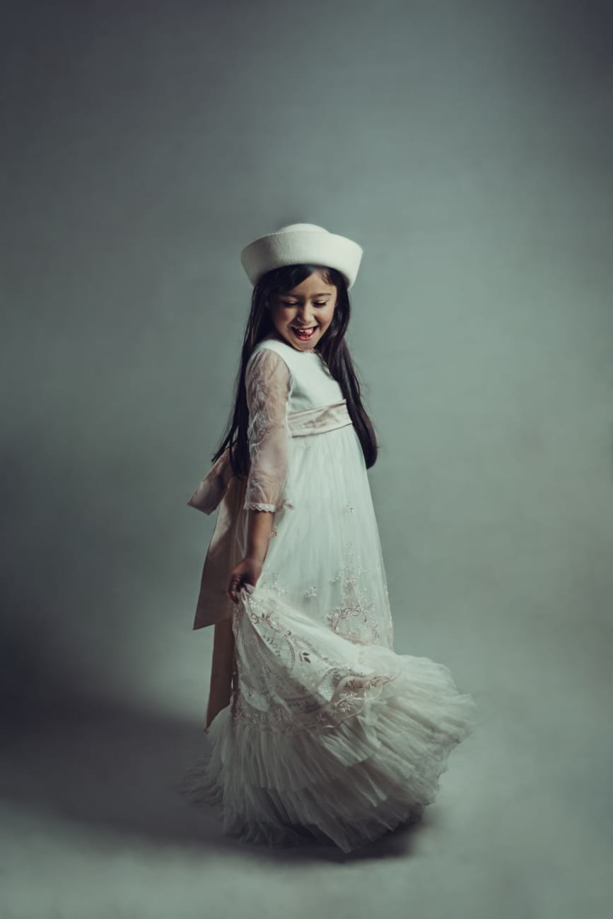 Fotografía artística infantil en Madrid