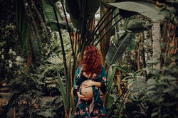 Sesión de embarazo artística Madrid
