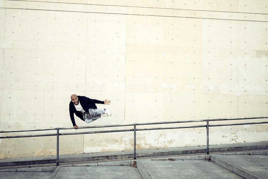 Fotografía retrato bailarín Madrid