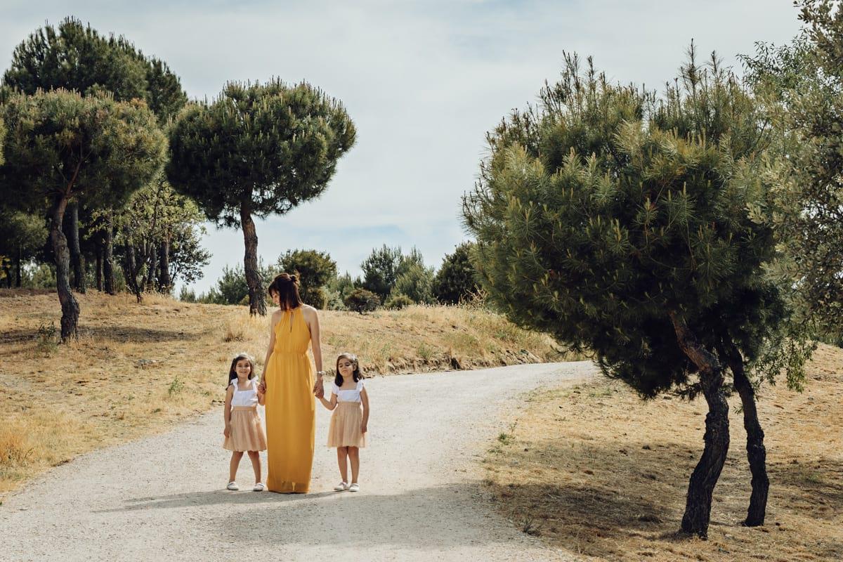 Sesión de fotos familia en Madrid