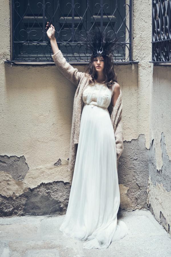 Fotografía moda novia en Madrid