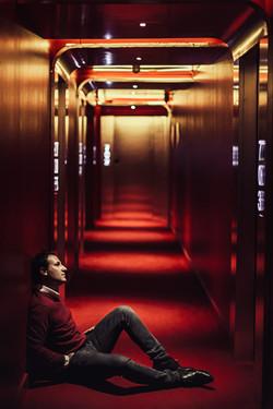 Sesión retrato hombre hotel madrid