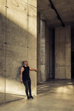 Fotografía retrato bailarín