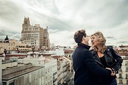 Sesión retrato pareja hotel madrid