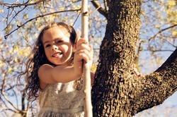 Fotografía infantil Madrid - parque