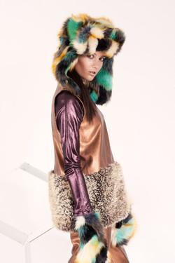 Fotografía moda - fauna de invierno