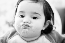Fotografía infantil comida - Madrid
