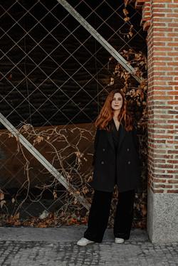 Book sesión retrato artístico mujer en Madrid
