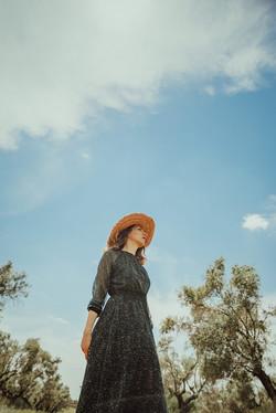 Book fotografía retrato artístico mujer en Madrid
