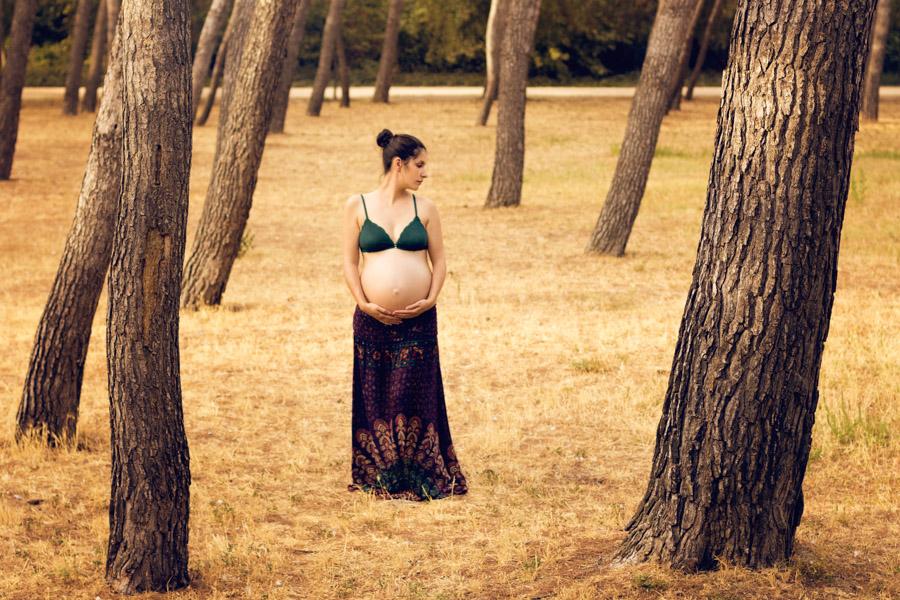 Fotografía de embarazo premamá