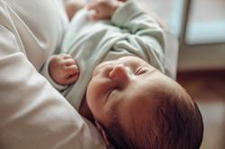 Sesión recién nacido natural Madrid