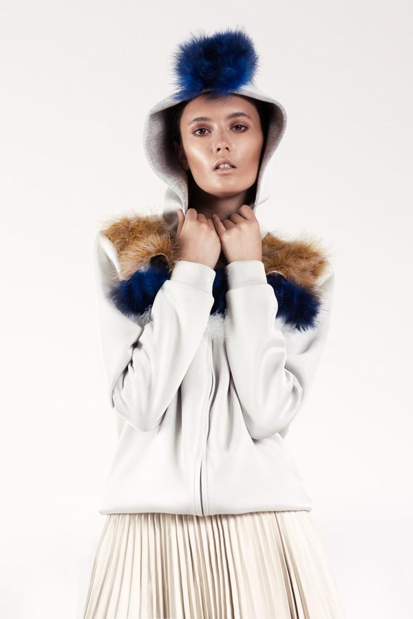 Fotografía moda invierno en Madrid
