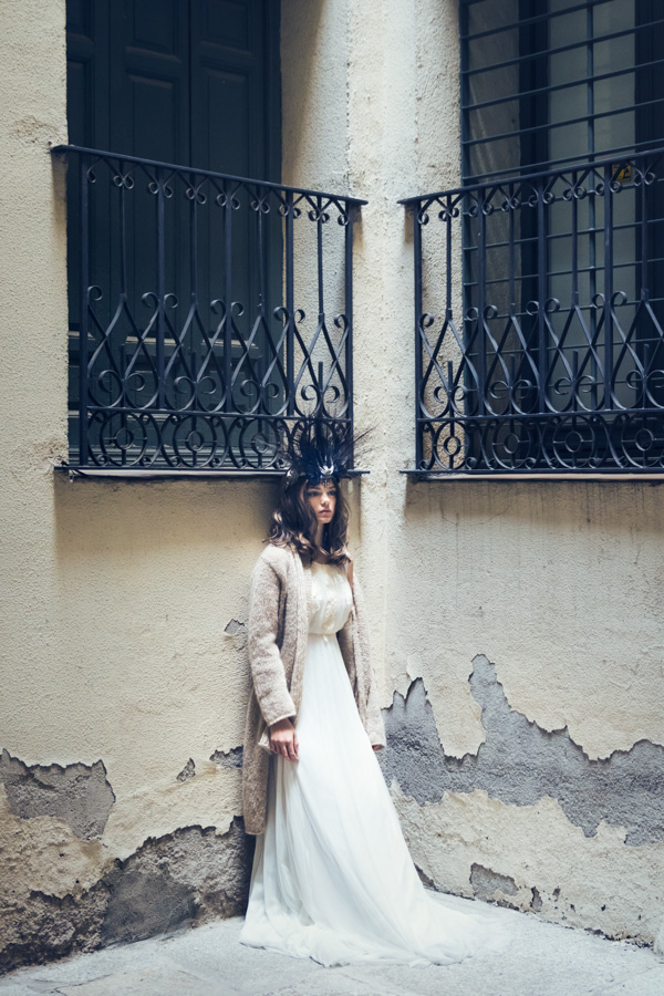 Fotografía de moda en Madrid - novia