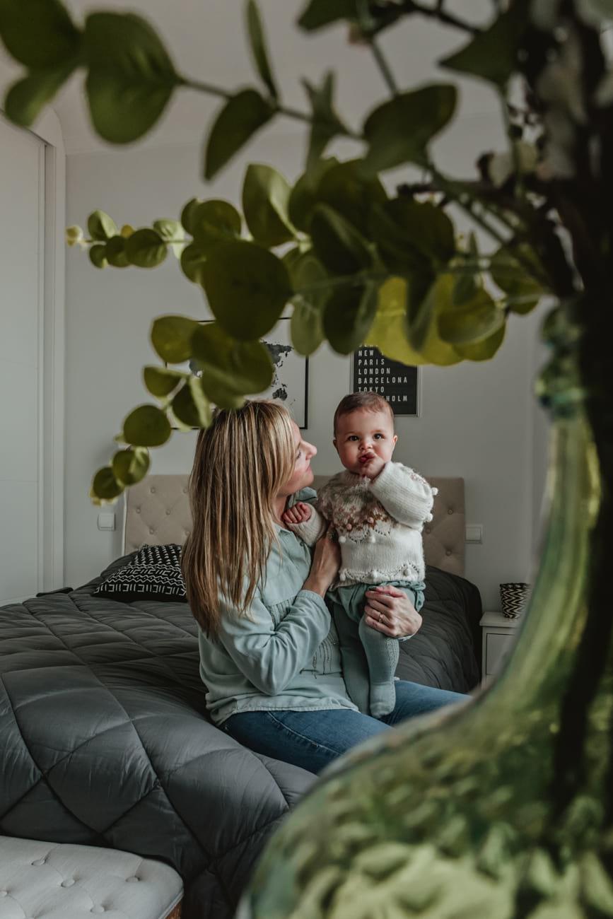 Sesión de fotos familia a domicilio en Madrid